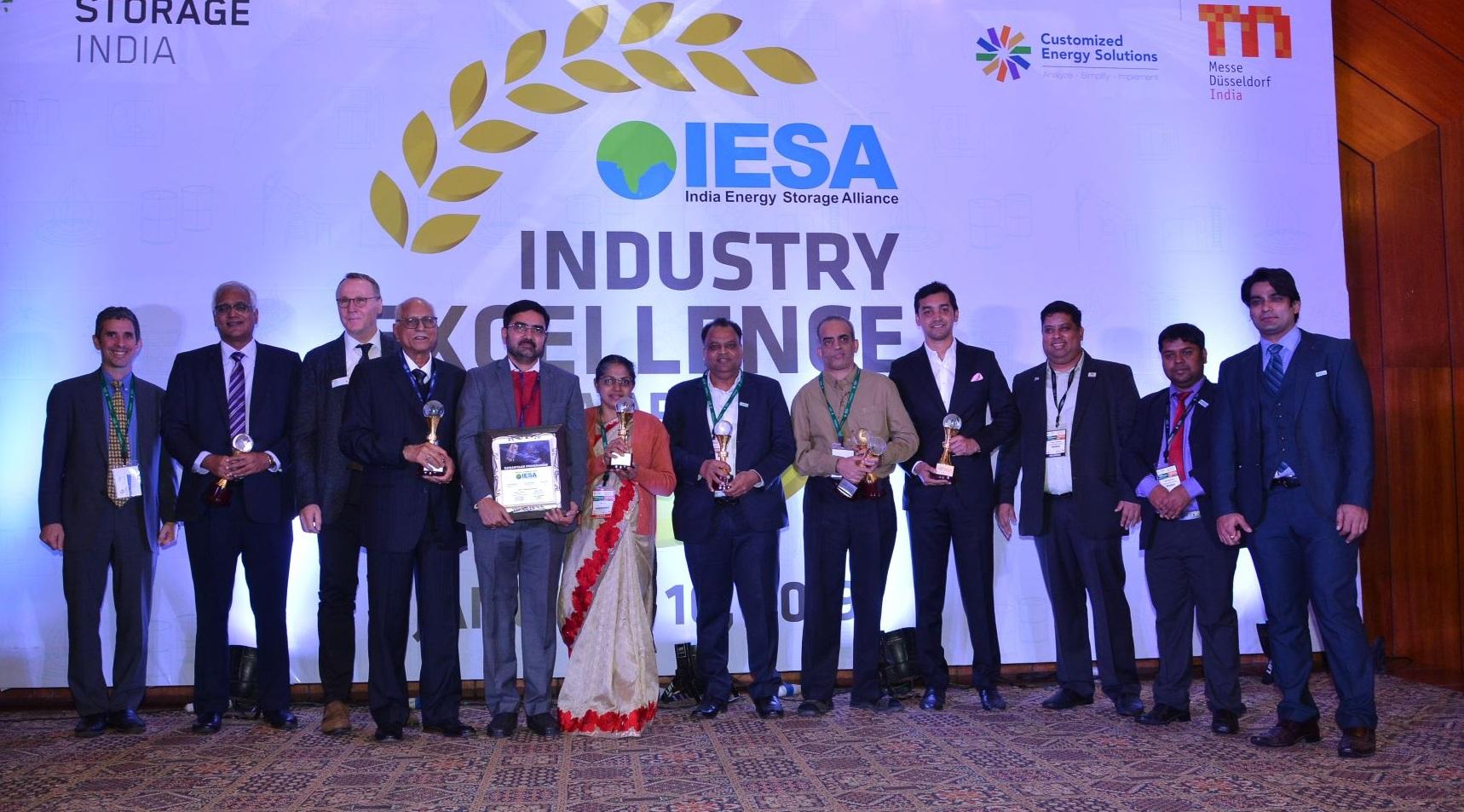 ISRO Bags 'Innovative Company of the Year' Award at IESA